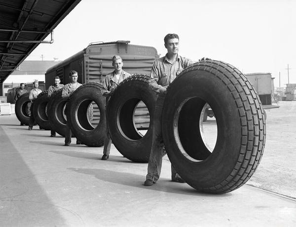Vulkanisierte Goodyear Reifen