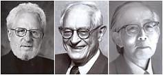 Alan J. Heeger, Allan G. MacDiarmid und Hideki Shirakawa<