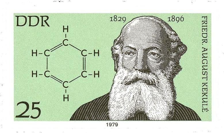 Friedrich August Kekulé 1829-1896. Benzolformel