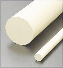 Halbzeuge aus PPE, PPO. Rundstäbe für Drehteile und Platten/Flachstäbe für Frästeile aus Noryl GFN3