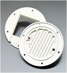 Wärmetauscher. Spritzgussteril aus brandgeschütztem PPE, PPO